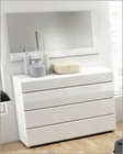 Modern Style Single Dresser and Mirror Made in Spain Sara 33190SR