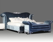 Modern Transitional Fabric Bed 44B174BD