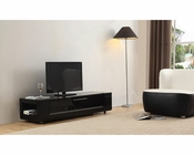 Modern TV Console in Black BM-633-BLK