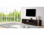 Modern TV Console in Grey-Ebony BM-100-EBY