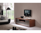 Modern TV Console in Light Walnut BM-130-BRN