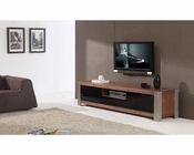 Modern TV Console in Light Walnut BM-140-BRN