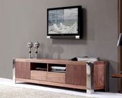 Modern TV Console in Light Walnut BM100-BRN