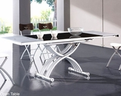 Modern Two Tone Dining Table European Design 33D252