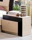 Modern Two Tone Nightstand Made in Italy 44B2213