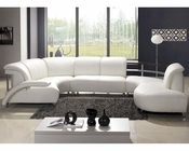 "Modern ""U"" Shaped Leather Sectional Sofa 44LV104"
