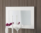 Modern Wall Mirror Natalia in White Made in Spain 33B313