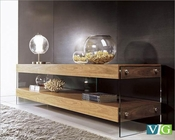 Modern Walnut Floating TV Stand 44ENT1787