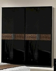 Modern Wardrobe in Black/ Brown Finish Made in Italy 44B5118BB