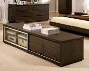 Modern Wenge Finish TV Chest Made in Italy 44B1720