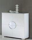 Modern White 4 Door Unit Cruz European Design Made in Spain 33D85