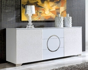 Modern White Buffet European Design Made in Spain 33D214