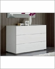 Modern White Dresser Made in Spain Jennifer 33150JN