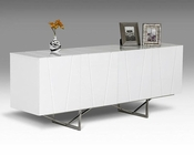 Modern White High Gloss Buffet 44D8978