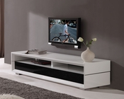 Modern White High Gloss TV Console BM-629-WHT