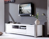 Modern White High Gloss TV Console BM100-WHT