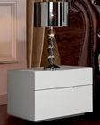 Modern White Night Stand Made in Spain Jennifer 33170JN