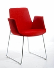 Modern Wool Fabric Dining Chair 44D100-F