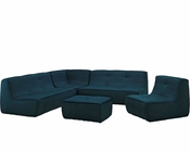 Modway Align 5 Piece Upholstered Sectional Sofa Set MY-EEI-1015