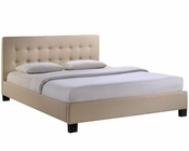 Modway Caitlin Queen Bed Frame in Beige MY-MOD-5037