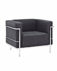 Modway Charles Grande Armchair in Dark Gray MY-EEI-281
