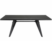 Modway Clasp Dining Table in Wenge MY-EEI-1078