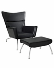 Modway Class Lounge Chair in Black MY-EEI-287