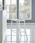 Modway Deck Bar Stool in Silver MY-EEI-1192