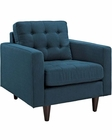 Modway Empress Armchair in Azure MY-EEI-1013