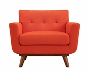 Modway Engage Armchair in Atomic Red MY-EEI-1178