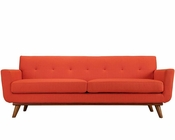Modway Engage Sofa in Atomic Red MY-EEI-1180