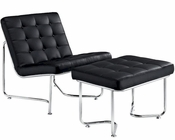 Modway Gibraltar Lounge Chair in Black MY-EEI-262