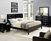 Modway Harrison Bedroom Set in Black MY-MOD-5006SET