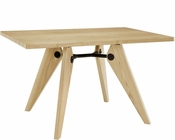 Modway Landing Dining Table in Natural MY-EEI-1087