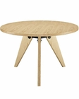 Modway Laurel Dining Table in Natural MY-EEI-1065