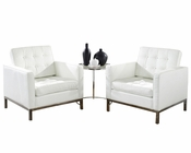 Modway Loft 3 Piece Leather Sofa Set MY-EEI-859