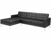 Modway Loft Left-Arm Sectional Sofa in Black MY-EEI-1046