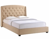 Modway Lydia Queen Bed Frame in Beige MY-MOD-5044