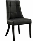 Modway Noblesse Dining Side Chair in Black MY-EEI-1039