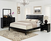 Modway Olivia Bedroom Set in Black MY-MOD-5020SET