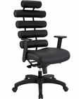 Modway Pillow Office Chair in Black MY-EEI-274