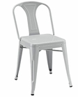 Modway Reception Dining Side Chair in Gray MY-EEI-266
