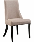 Modway Reverie Dining Side Chair in Beige MY-EEI-1038