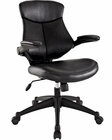 Modway Stealth Mid Back Office Chair in Black MY-EEI-1103