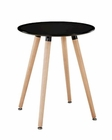 Modway Track Circular Side Table in Black MY-EEI-1058