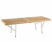 Modway Vantage Bench in Natural MY-EEI-309