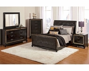 Najarian Bedroom Set w/ Upholstered Bed Ibiza NA-IB3SET