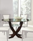 Najarian Furniture Glass Top Dining Table Versailles NA-VE-DTAB