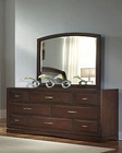 Najarian Furniture Dresser and Mirror Beverly NA-BE-DRMR