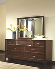 Najarian Furniture Dresser and Mirror Melrose NA-ME-DRMR